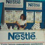 Barbara de Siena hostess Nestlé Nazionale Ginnastica Italiana
