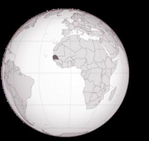 Il Senegal nella mappa di UP2gether