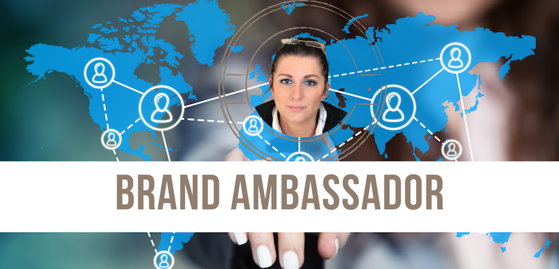 A Brand Ambassador to be known and to sell abroad