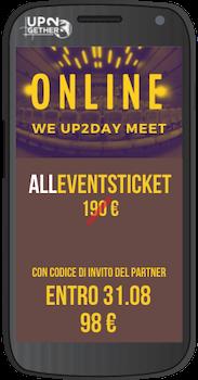 AllEVENTS UP2Day2021 ticket su UP2gether