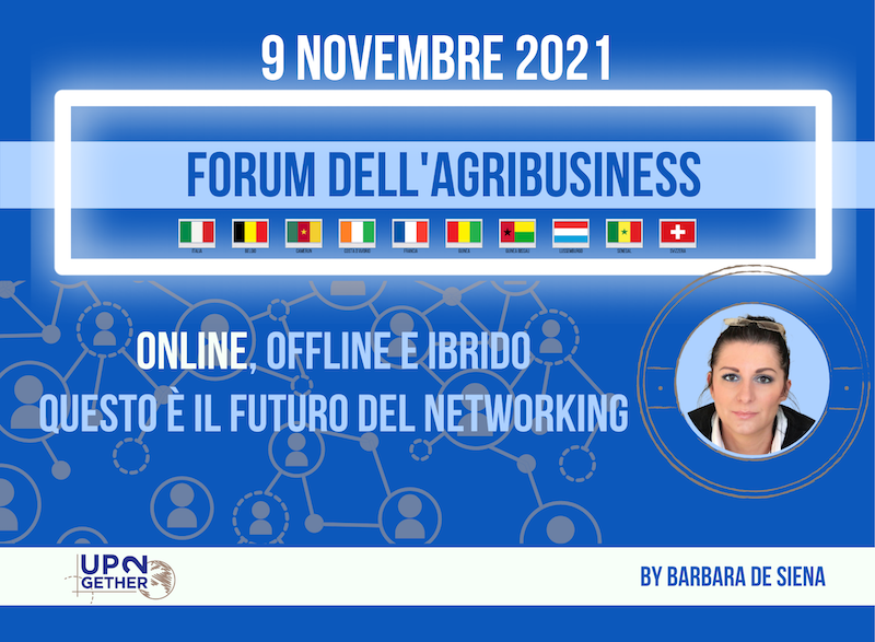 Agribusiness UP2Day UP2gether evento online 9 novembre
