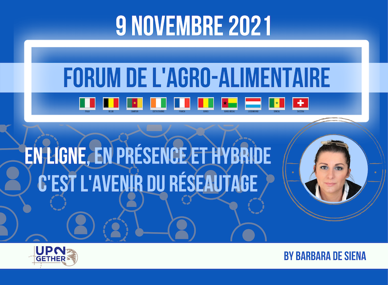 Agribusiness UP2Day forum de l'agro-alimentaire
